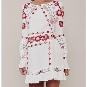 For Love and Lemons Cecelia Mini Dress